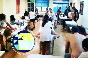 Quiromasaje terapéutico y deportivo: masajes realizados por alumnos