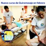 Nuevo curso de Quiromasaje en febrero