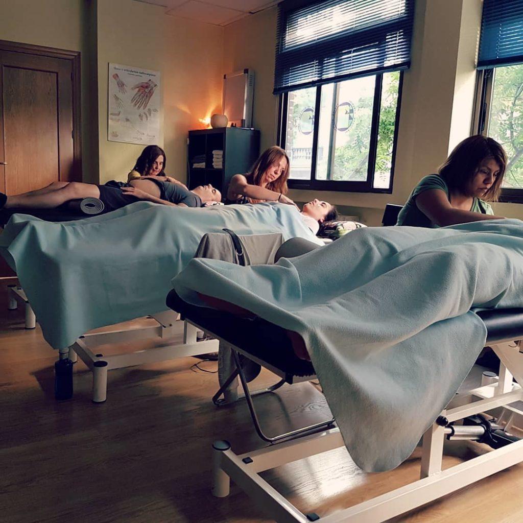Liberación del estrés con terapia craneosacral